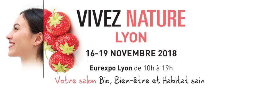 Logo VIVEZ NATURE Lyon - Novembre 2018
