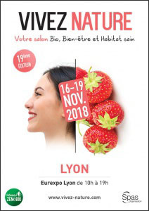 Affiche salon VIVEZ NATURE Lyon 2018