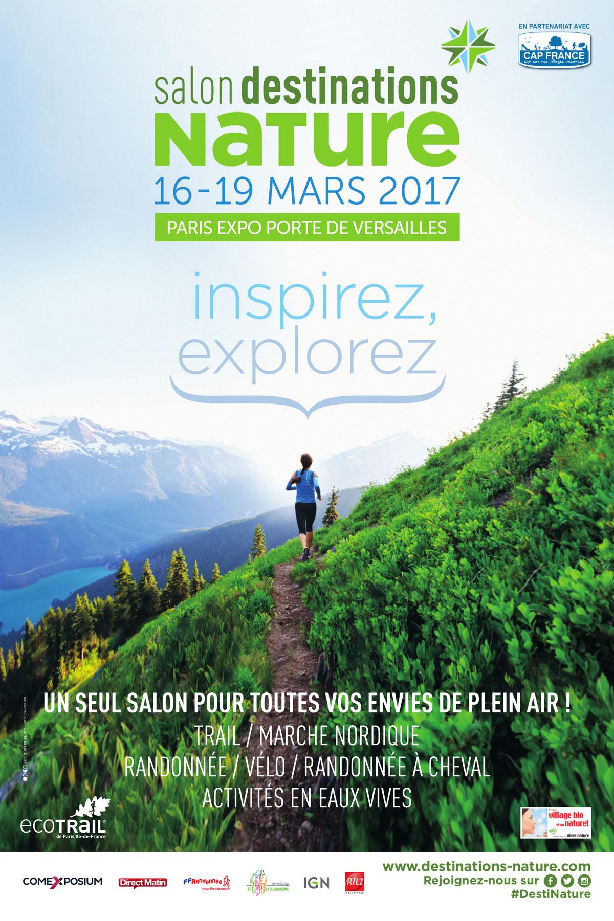Destinations nature 2017 un seul salon pour toutes les for Salon vivez nature lyon 2017